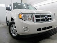 2012 Ford Escape XLT 4X4 BLANC MAGS MARCHE PIED 85,000KM