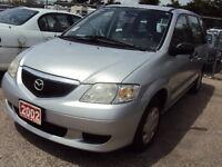 2002 Mazda MPV Minivan, Van Certified and E-tested