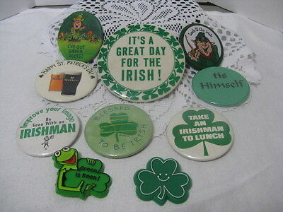 St Patrick's Day Bag of Buttons ~ **Gift Idea - Halloween Gift Bag Ideas