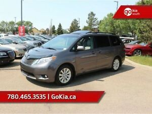 2014 Toyota Sienna XLE; AWD, LEATHER, SUNROOF, POWER SLIDING DOO
