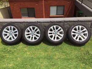 """BMW 3-Series Genuine 16"""" Rims and Tyres Ryde Ryde Area Preview"""