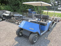 1986  EZ-GO MARATHON ELECTRIC GOLF CART