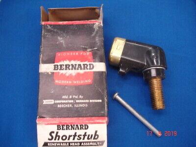 Bernard Shortstub Head Assembly K6 600 Amps Very Old Stock Head Only