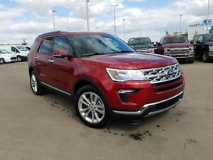 2018 Ford Explorer Limited-3.5L V6 Engine,4WD,Leather,Safe and S