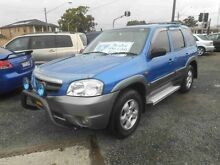 2003 Mazda Tribute Classic Blue 4 Speed Automatic 4x4 Wagon Greenacre Bankstown Area Preview
