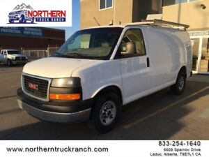 2013 GMC Savana Cargo Van ROOF RACK SHEVING PARTION