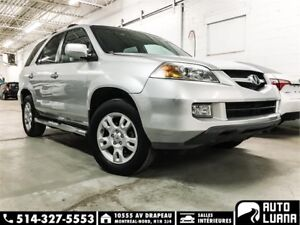 2005 Acura MDX 4WD/7PASS/MAGS/TOIT/BLTTH/DVD/CUIRE/**139000km**
