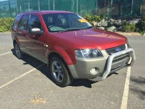 2004 Ford Territory SX TX AWD Maroon 4 Speed Sports Automatic Wagon Underwood Logan Area Preview