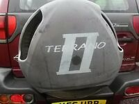 breakind red nissan terrano automatic 2.7 turbo diesel 4x4