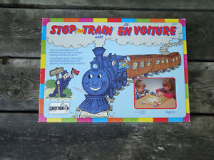 Stop the Train Board Game