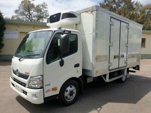 2016 Hino Dutro 300 716 6 Pallet White Refrigerated Truck 4.0l Homebush West Strathfield Area Preview