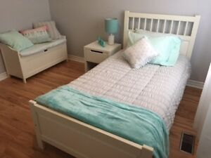 IKEA White Twin Bedroom Set