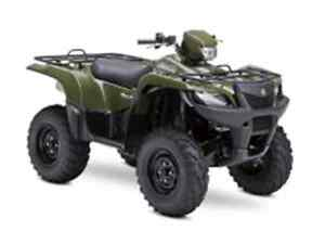 SUZUKI KINGQUAD 500 POWER STERING USE West Island Greater Montréal image 1