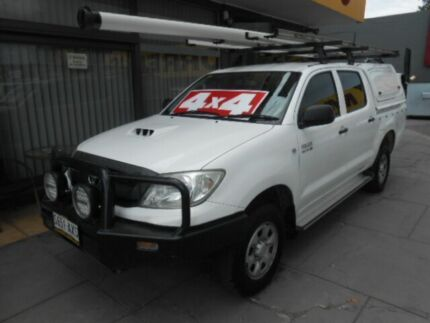 2009 Toyota Hilux KUN26R 08 Upgrade SR (4x4) White 4 Speed Automatic West Hindmarsh Charles Sturt Area Preview