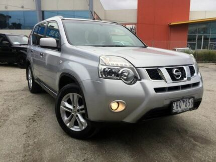 2012 Nissan X-Trail T31 Series IV ST-L 2WD Brilliant Silver 1 Speed Constant Variable Wagon