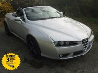 2007 57-reg Alfa Romeo Spider 2.2 jts sensible miles FSH new timing chain fitted!!!