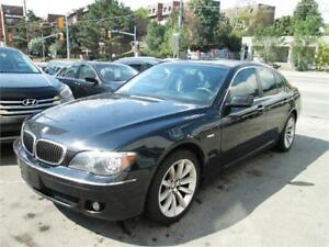 2008 BMW 750I 116Km only/Accident free/1Year Ltd. Warranty Incl.