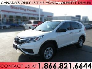 2015 Honda CR-V LX | HONDA CERTIFIED | WINTER WHEELS | NO ACCIDE