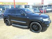 2011 Jeep Grand Cherokee WK MY2011 Laredo Black 5 Speed Sports Automatic Wagon Kippa-ring Redcliffe Area Preview