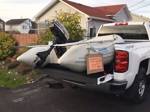 7.5' Inflatable Boat + 2.5hp Motor