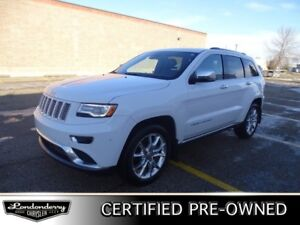 2016 Jeep Grand Cherokee 4WD SUMMIT Accident Free,  Navigation (