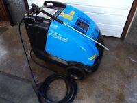 Diesel hot pressure washer/steam cleaner, hot jet washer £675