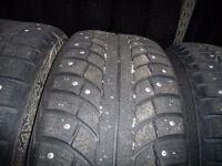4 pneus d'hiver 205/60/16