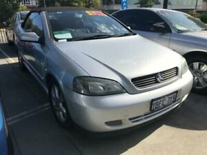 2002 Holden Astra TS Convertible Silver 4 Speed Automatic Convertible St James Victoria Park Area Preview