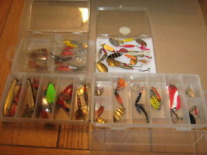 fishing lures,rods and reels.