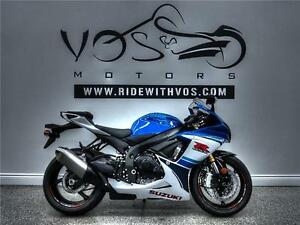 2016 Suzuki GSXR750 - V2072NP - **Financing Available