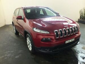 2014 Jeep Cherokee KL Sport (4x2) Burgundy 9 Speed Automatic Wagon Clemton Park Canterbury Area Preview