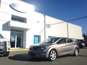 2011 Hyundai Elantra Limited with Leather Interior and Heated Se