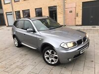 BMW X3 2.5 i *Sport*AUTOMATIC*2004,SUV,3 OWNERS,FULL SERVICE HISTORY,HPI CLEAR,WARRANTY