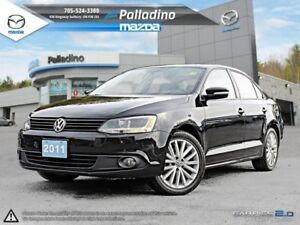 2011 Volkswagen Jetta Sedan FUEL EFFICIENT & RELIABLE- LEATHER I