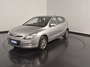 2012 Hyundai i30 FD MY11 SLX Grey 5 Speed Manual Hatchback Victoria Park Victoria Park Area Preview