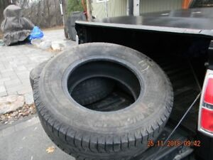 Two Truck Snow Tires