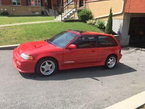 1991 Honda Civic Coupé (2 portes)