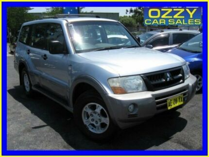 2004 Mitsubishi Pajero NP GLS LWB (4x4) Silver 5 Speed Auto Sports Mode Wagon Minto Campbelltown Area Preview