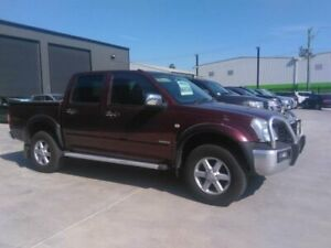 2004 Holden Rodeo RA LT Burgundy 5 Speed Manual Crew Cab Pickup Mowbray Launceston Area Preview