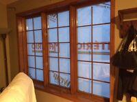 3 belles fenêtres en bois à manivelle VENTE RAPIDE