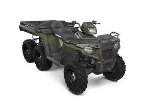POLARIS SPORTSMAN 6X6 BIG BOSS 570 EPS VERT SAUGE 2017