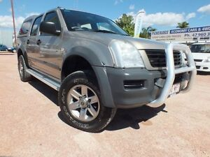 2005 Holden Rodeo RA MY05 LX Crew Cab Gold 5 Speed Manual Utility Rosslea Townsville City Preview