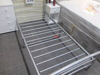 *BARGAIN*****SINGLE METAL BED FRAME+IN GOOD CONDITION+DELIVERY AVAILABLE*****