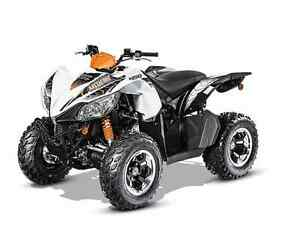 ARCTIC CAT XC 450 WHITE/BLACK 2016