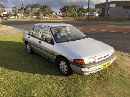 1993 Ford Laser KHII GL Silver 3 Speed Automatic Sedan