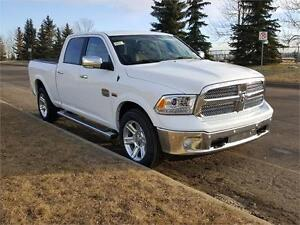 2017 RAM 1500 LONGHORN C/C 0% 84 MONTHS UNTIL FEB 17 GORGEOUS !!
