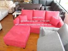 Huge Sale Price of Magnificent Aussie Made Sofa / Brand New Bondi Junction Eastern Suburbs Preview