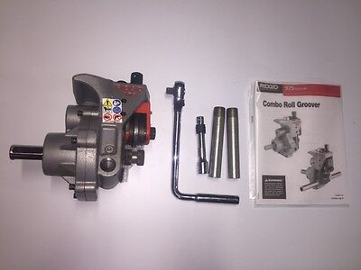 Ridgid 975 Roll Groover 916 300 300 Compact 535 1822 Pipe Threader 1-14-6 Pipe
