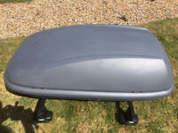 Car Roof Box used on Audi A1 a couple of times
