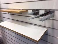 Slatwall Shelf brackets